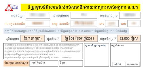 The Voucher Form